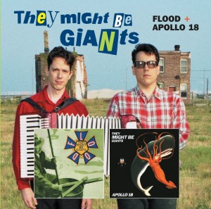 "They Might Be Giants / Elektra album 2CD reissues, including ""Flood"""