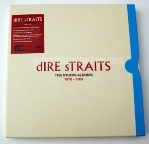 FIRST PICTURES / Dire Straits: The Studios Albums 1978-1991 vinyl box set