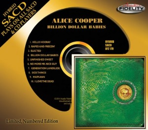 Alice Cooper / Billion Dollar Babies hybrid Super Audio CD (SACD)