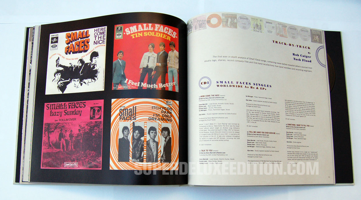 "FIRST PICTURES: Small Faces / ""Here Come The Nice"" Immediate Years box"