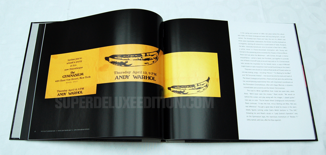 FIRST PICTURES: The Velvet Underground: White Light / White Heat Super Deluxe