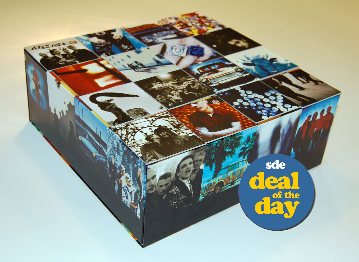 DEAL OF THE DAY: U2 / Achtung Baby 17-disc UBER deluxe