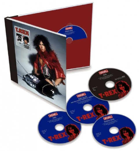T Rex / Tanx and Zinc Alloy 4CD+DVD deluxe