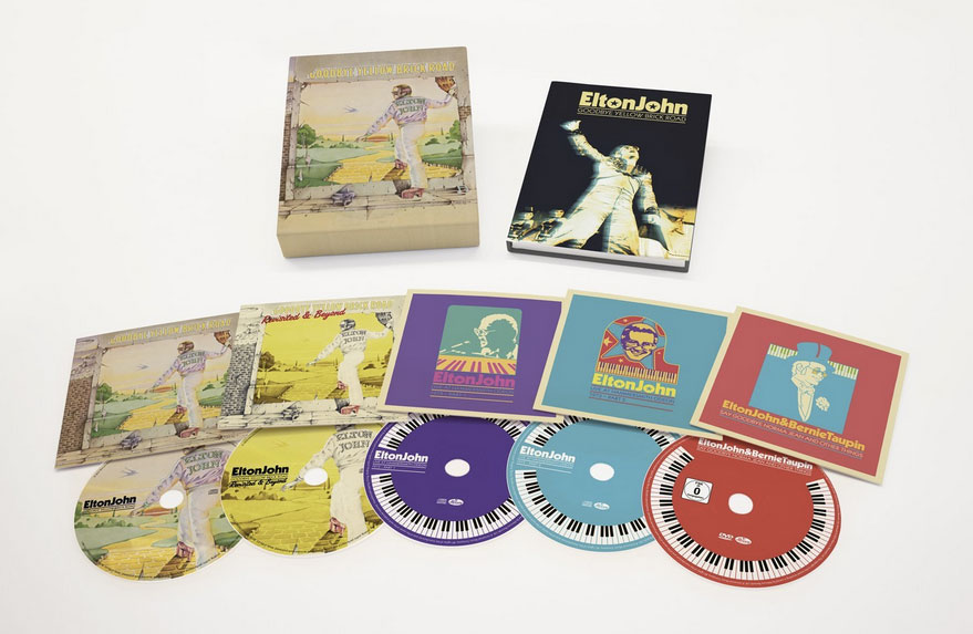 Elton John / Goodbye Yellow Brick Road super deluxe edition box set