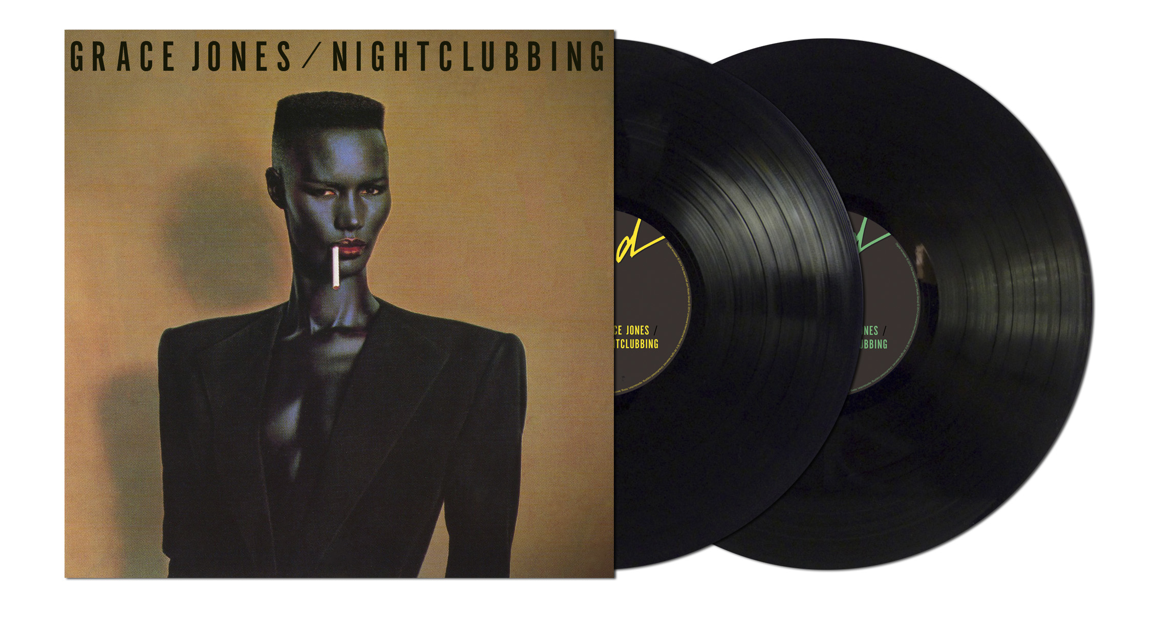 "Grace Jones / ""Nightclubbing"" remastered double vinyl"