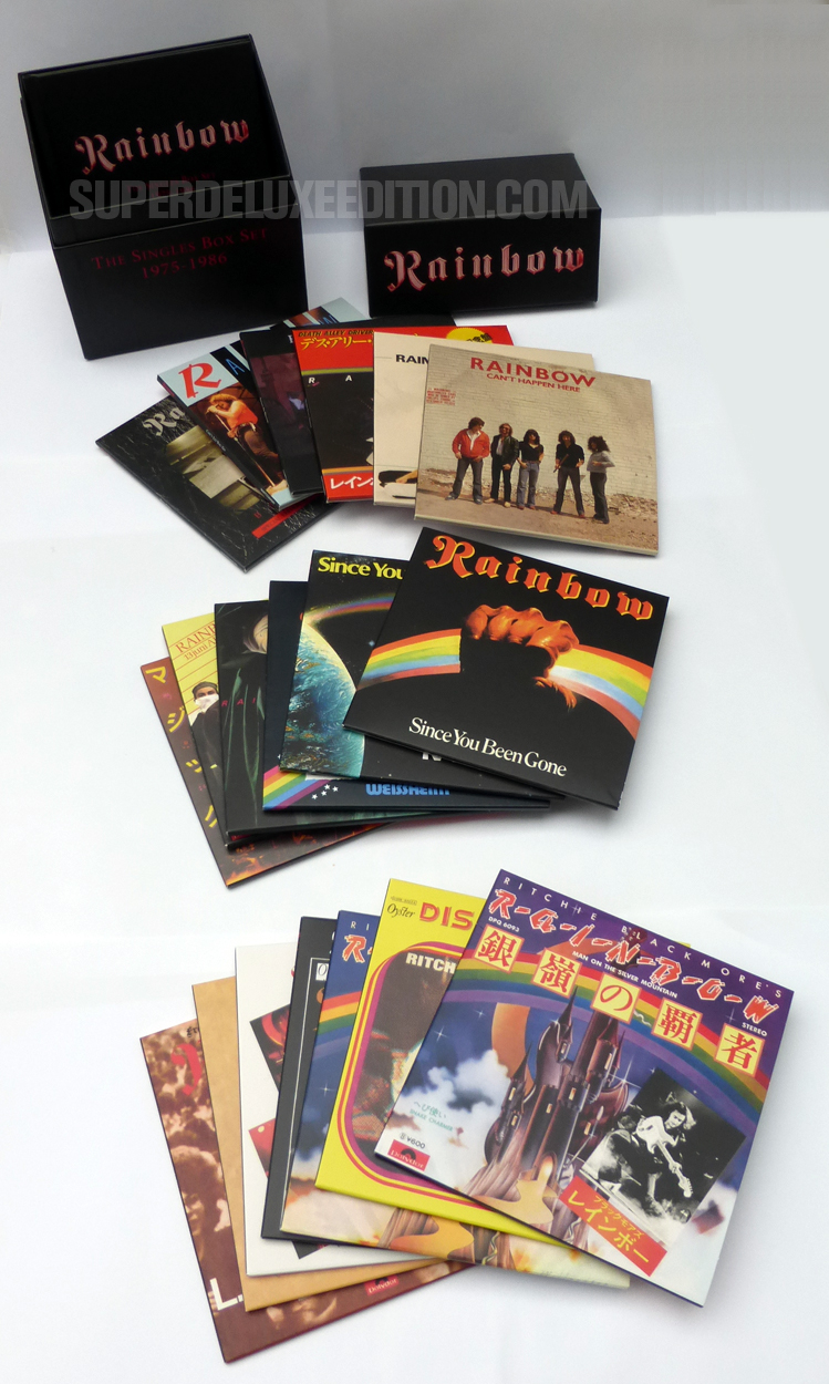 FIRST PICTURES: Rainbow / Singles box set 1975-1986