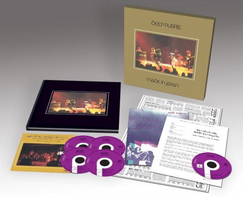"Deep Purple / ""Made In Japan"" reissue: boxes & formats explained"