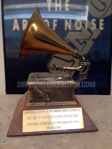 #ZTT30: Close (To the GRAMMY) / Gary Langan's GRAMMY award