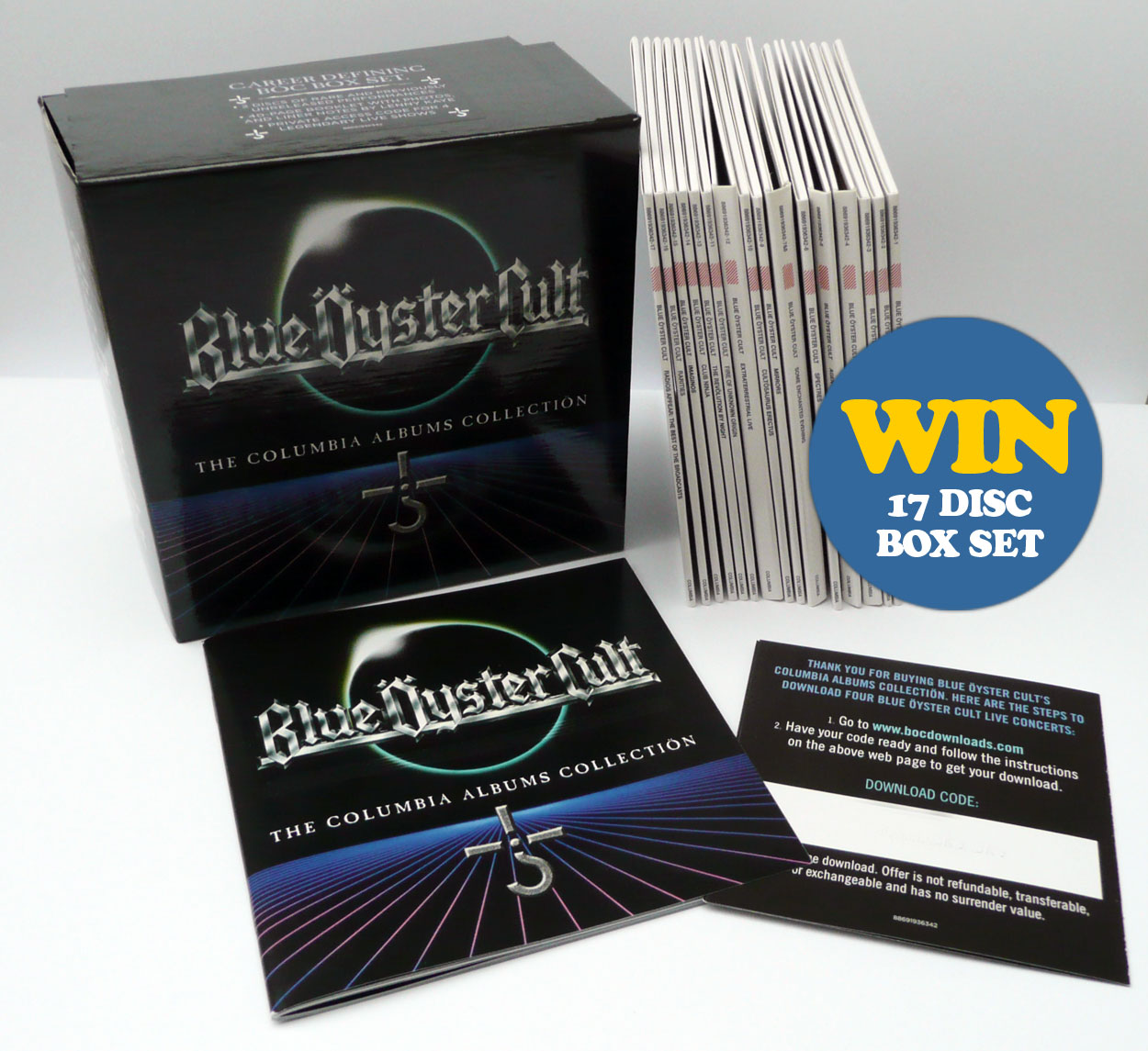COMPETITION Win a Blue Oyster Cult box set