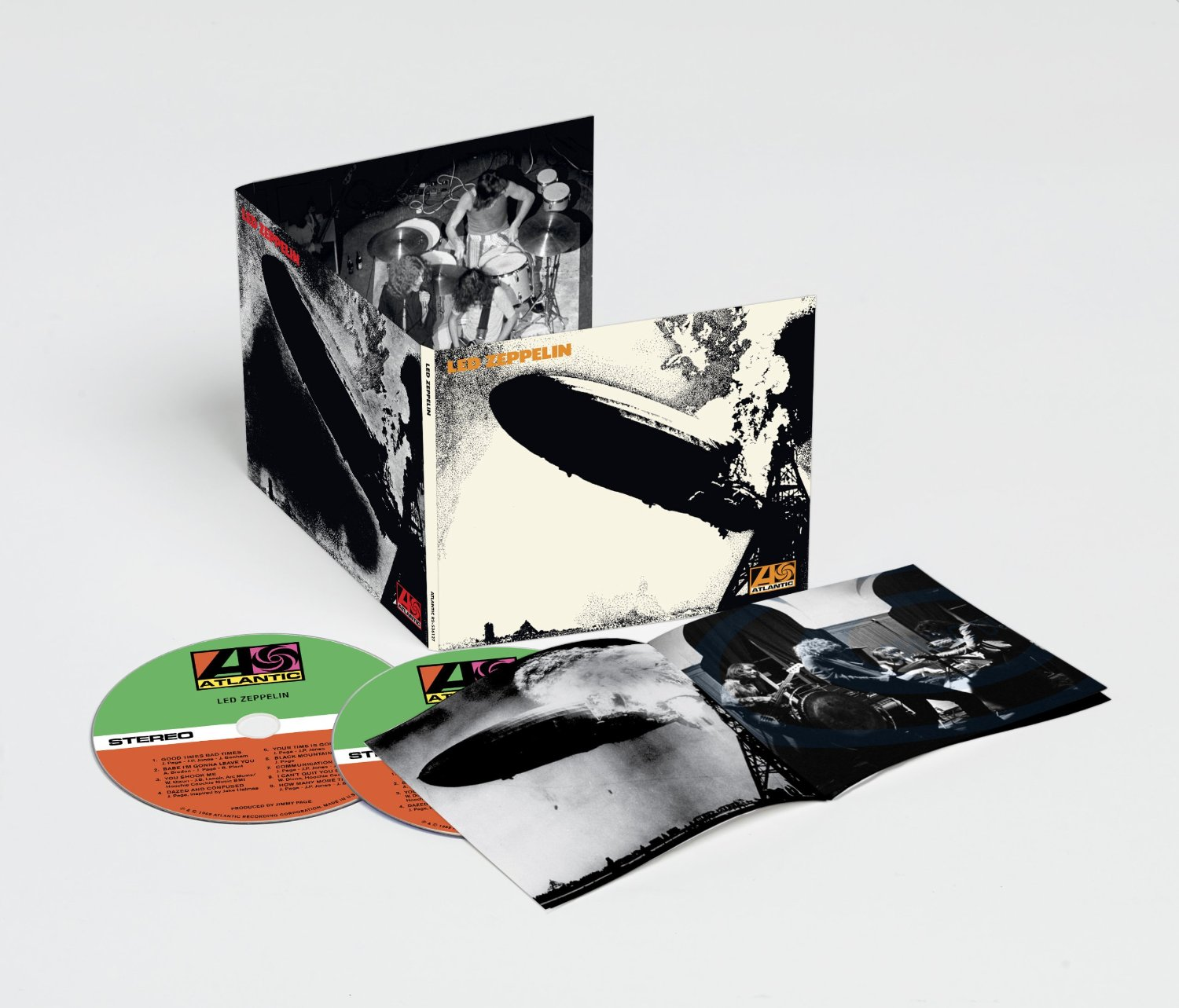 Led Zeppelin 2014 reissues 2CD deluxe remaster