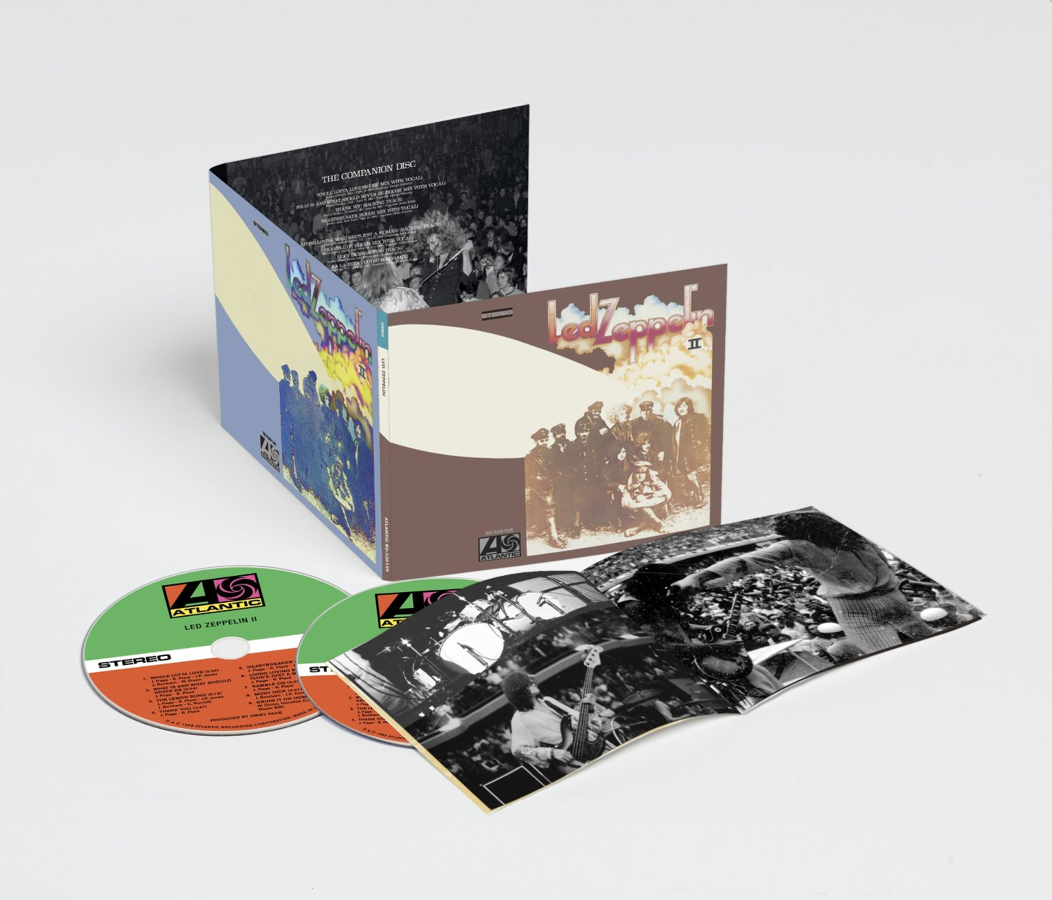 Led Zeppelin 2014 reissues / Led Zeppelin II 2CD deluxe