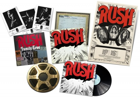 RUSH / ReDISCovered vinyl box