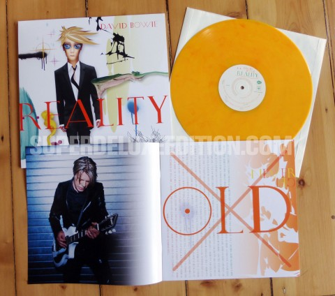 FIRST PICTURES: David Bowie / Reality coloured vinyl