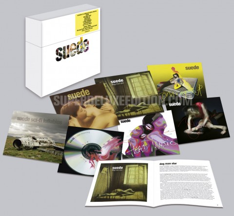 Suede_albumscollection