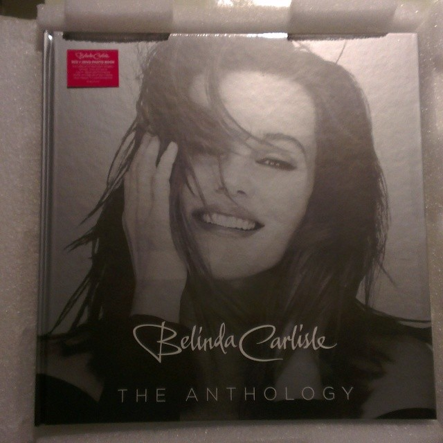 Belinda Carlisle Anthology well protected in excellent packaging #sde