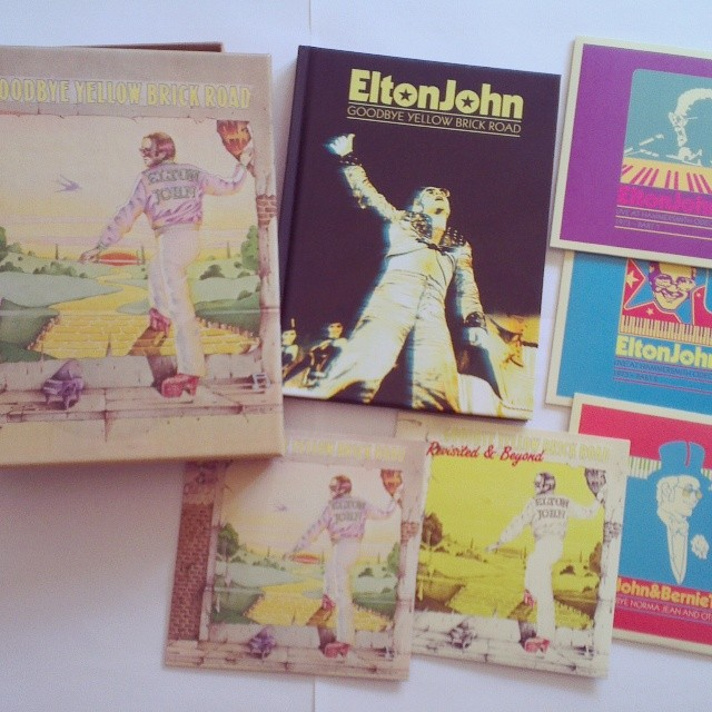 Elton John / 40th Anniversary Super Deluxe Edition box set of