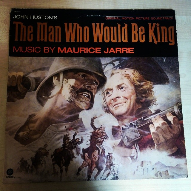 Absolutely LOVE this film, so had to pick up this vinyl #99p #secondhandnews #sde #manwhowouldbeking