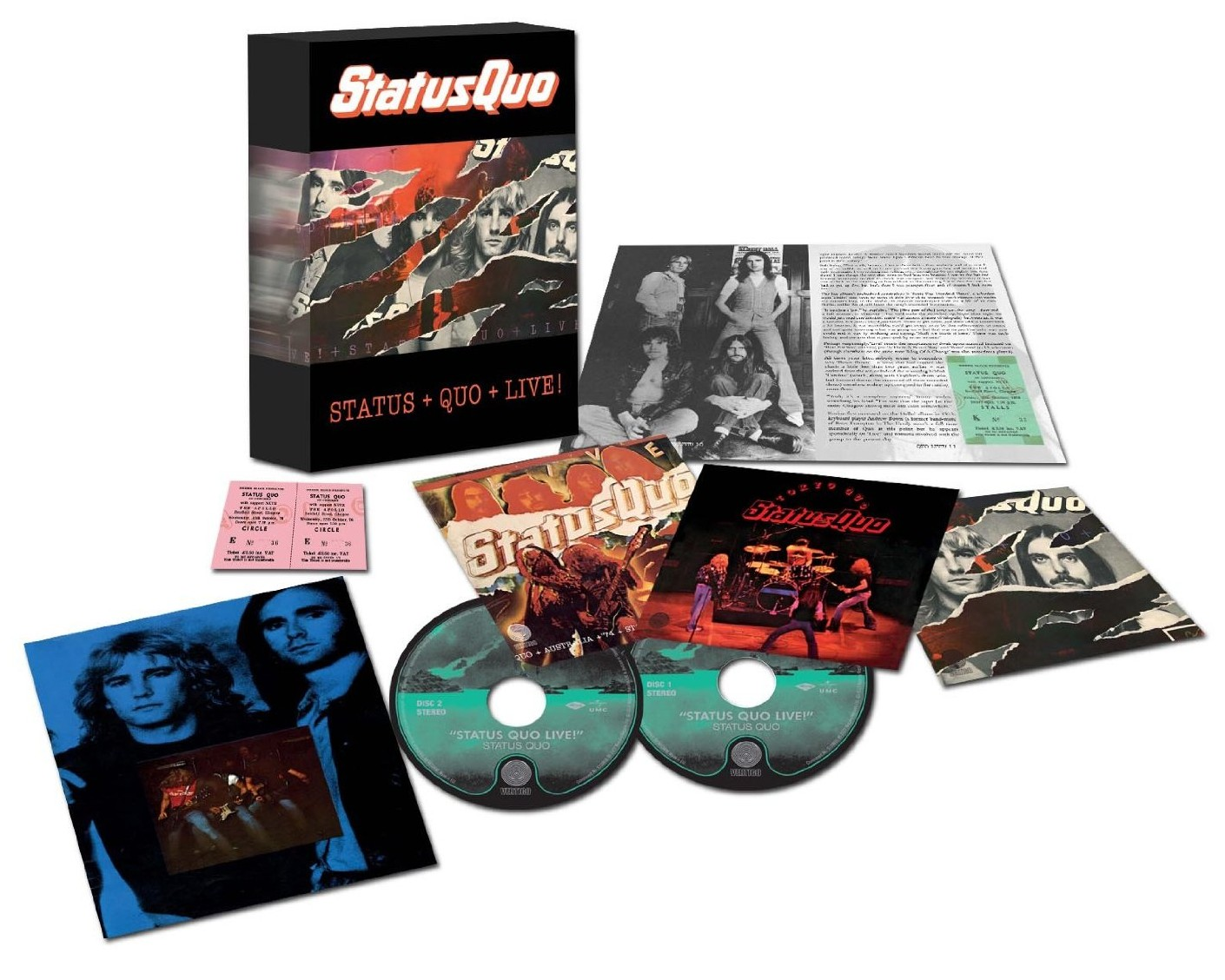 Status Quo / Live! 4CD box set