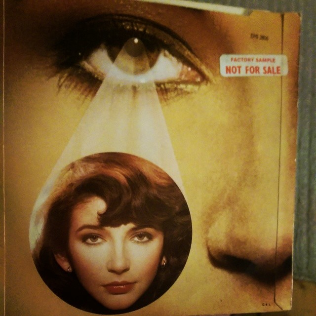 Kate Bush / The Man With The Child In His Eyes. Mint 'Factory Sample' 7-inch. 99p. #secondhandnews #sde