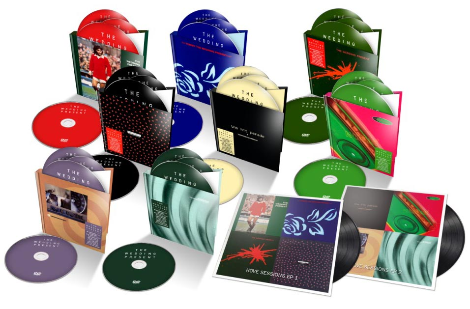 Gift to fans as Demon announce vast Wedding Present reissues