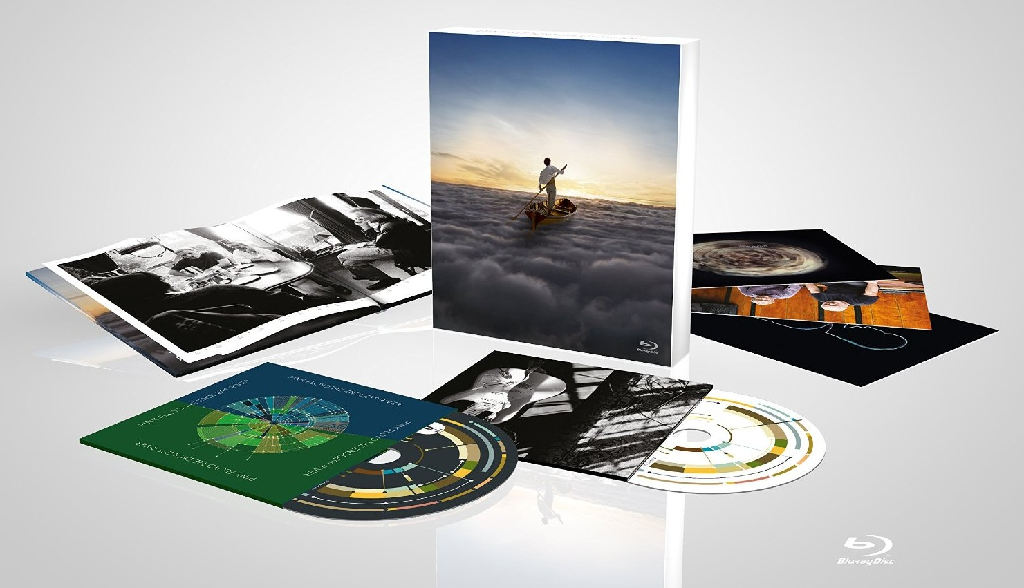 Pink Floyd / The Endless River deluxe box set CD+Blu-ray