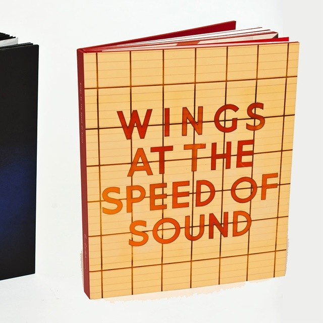 Wings at the Speed of Sound deluxe book!