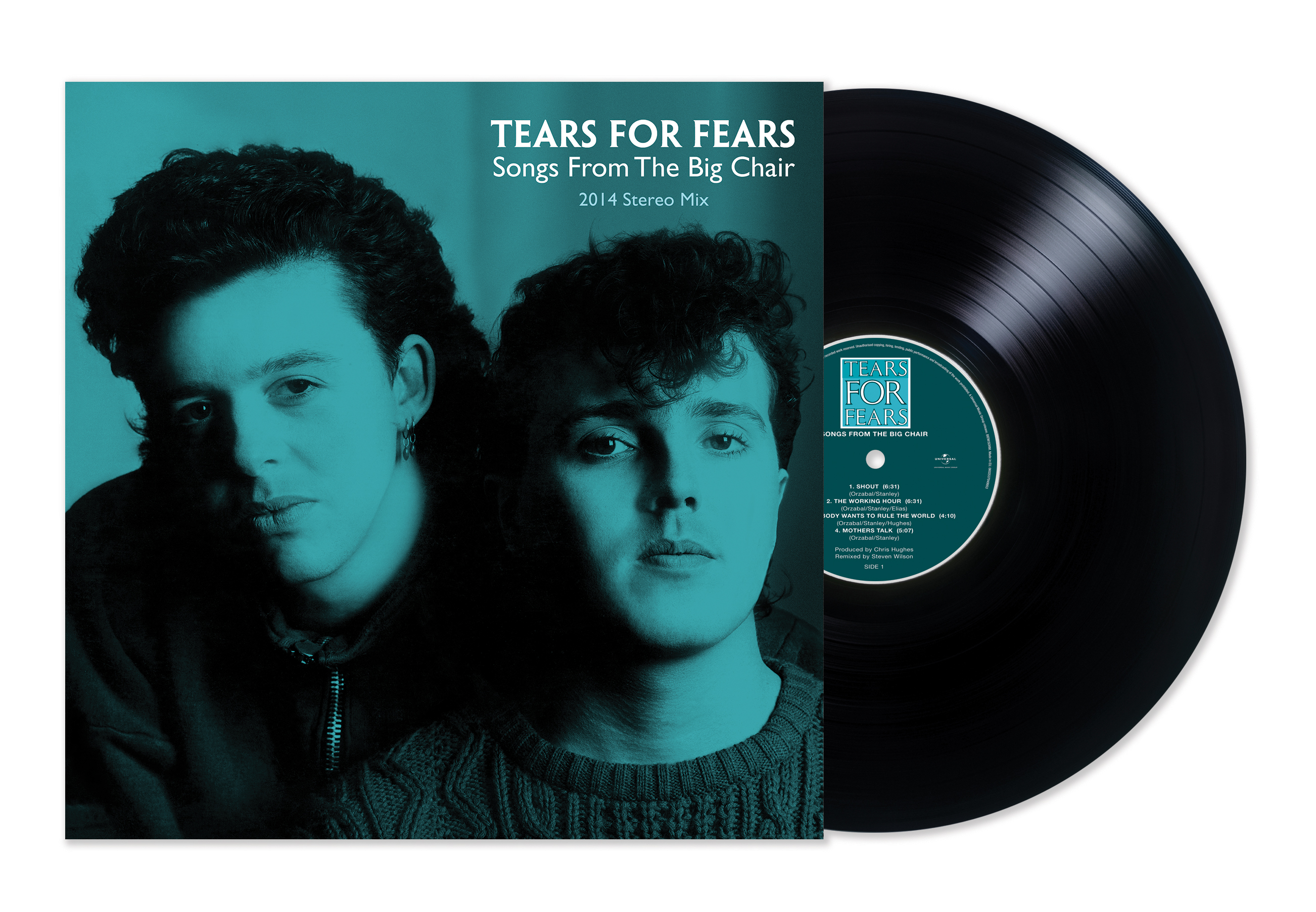 Tears For Fears / Songs From The Big Chair 2014 Stereo Mix on vinyl