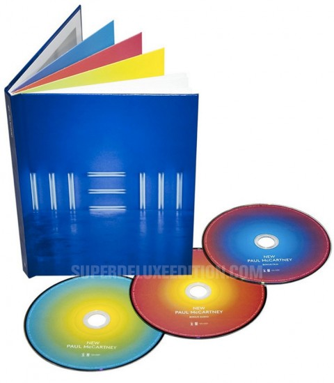 PICTURE: Paul McCartney / New 2CD+DVD Collector's Edition