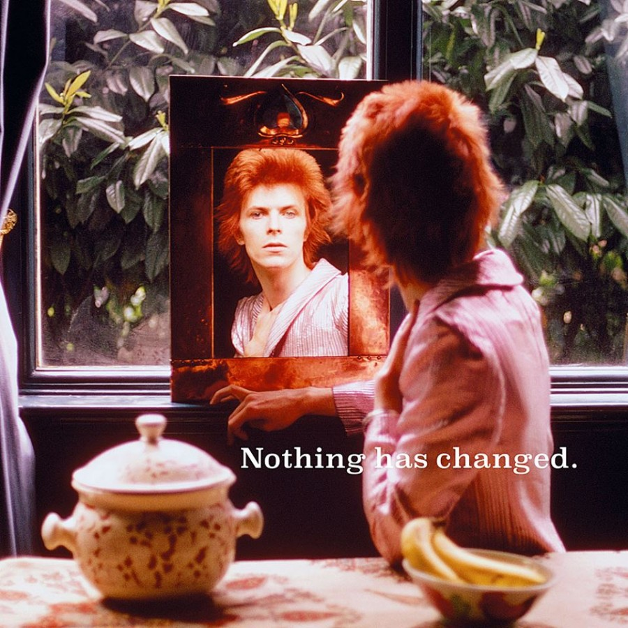 David Bowie: Nothing Has Changed / 2LP cover
