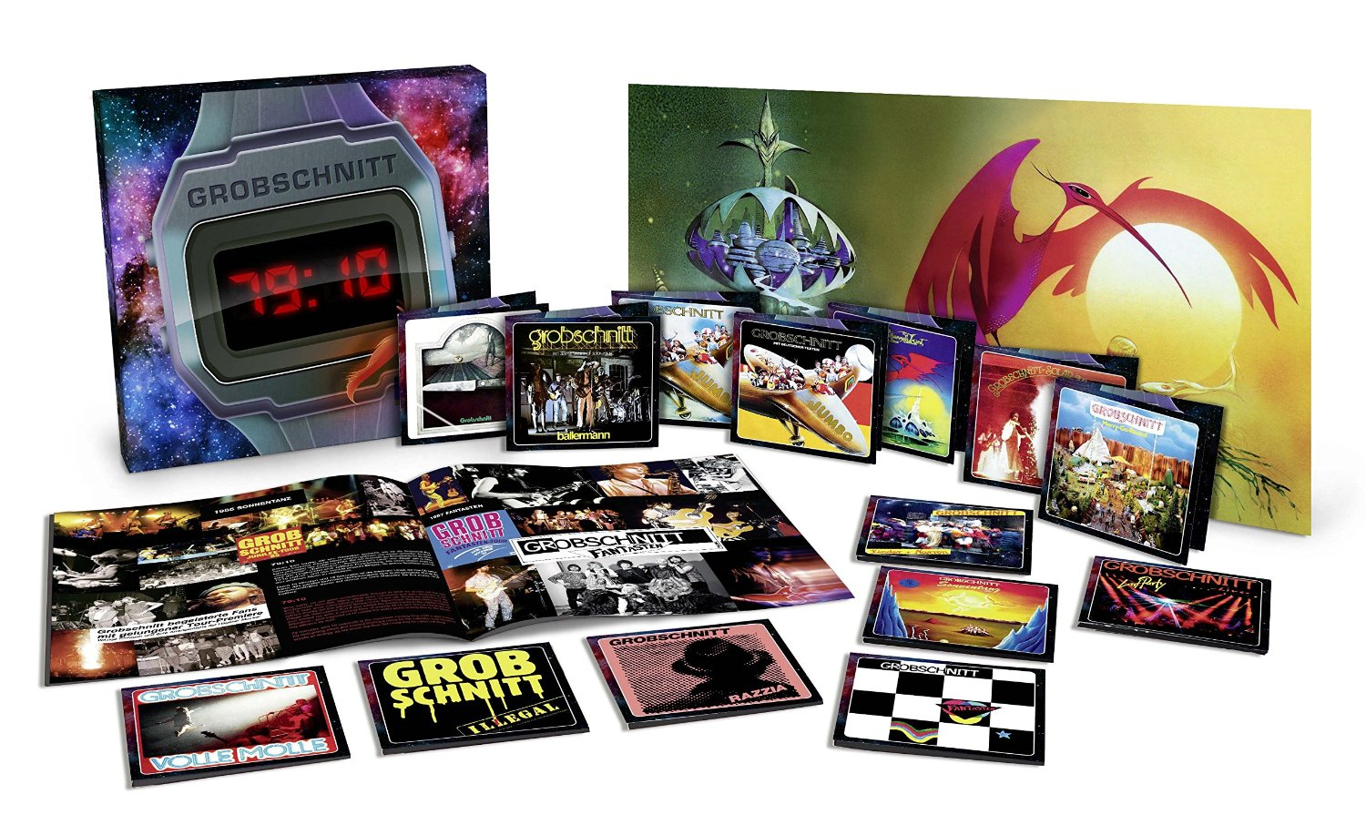 Grobschnitt / 79:10 limited edition box set