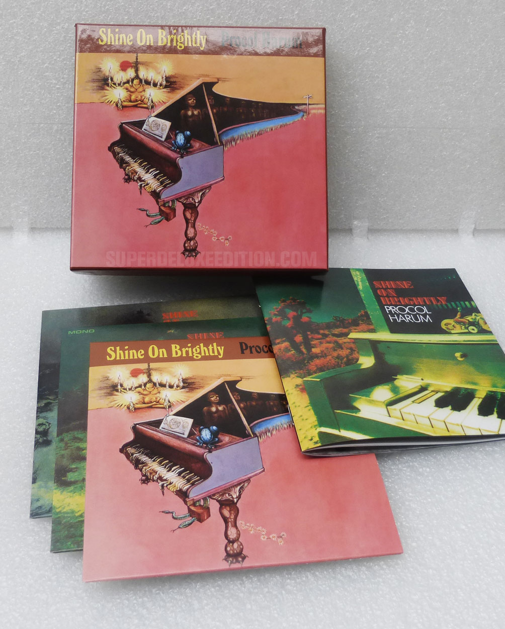 FIRST PICTURES / Procol Harum: Shine On Brightly box set