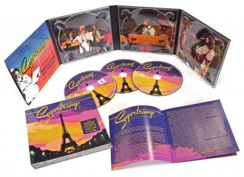 Supertramp / Live in Paris 2CD+DVD
