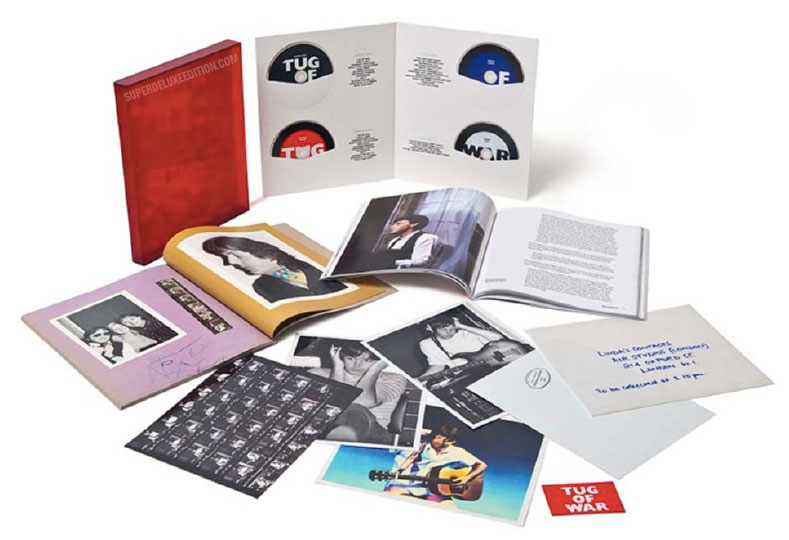 Paul McCartney / Tug of War Super Deluxe Edition