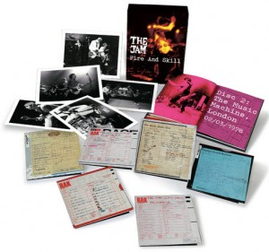 The Jam / Fire and Skill Live box set
