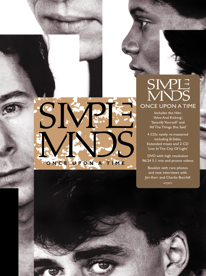 Simple Minds / Once Upon A Time six-disc super deluxe edition box