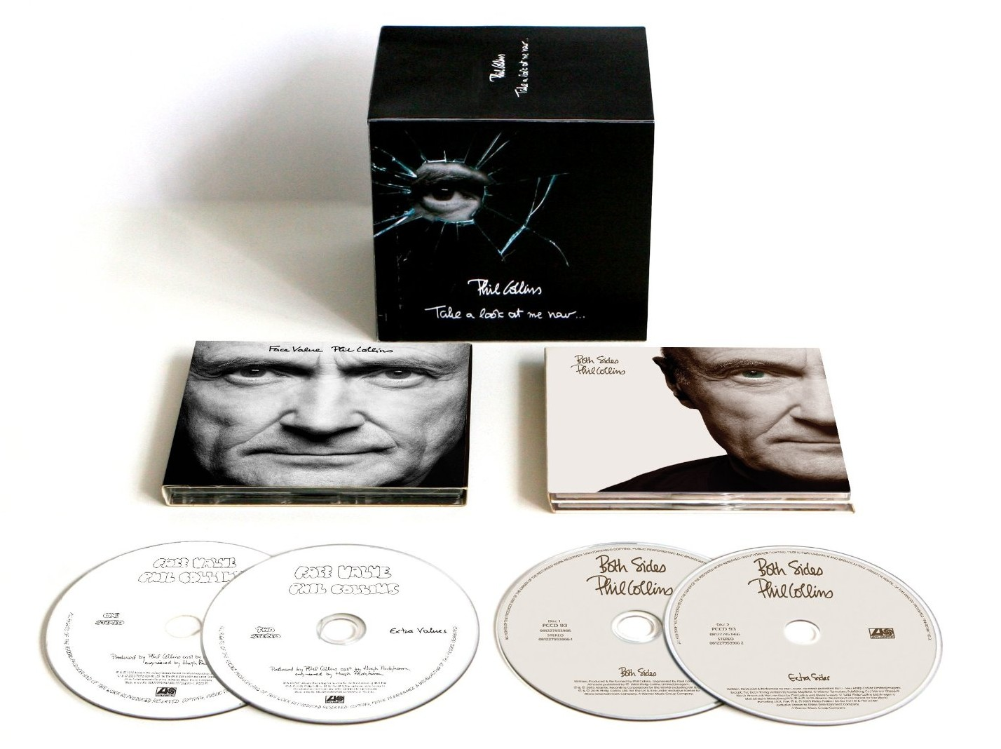 Phil Collins / Face Value and Both Sides 4CD Collector's Box Set