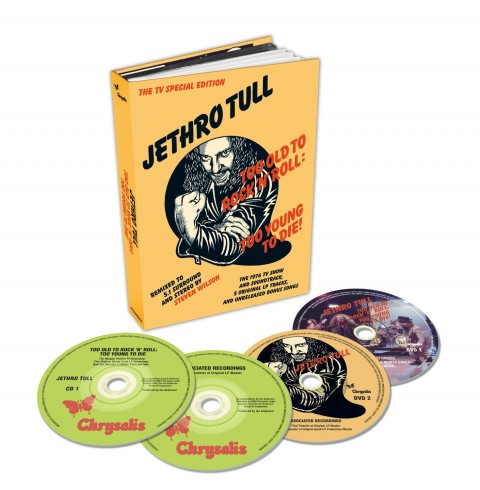 Jethro Tull / Too Old to Rock N Roll: Too Young to Die! / 4-disc box