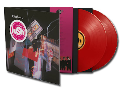 Lush / Ciao! Best of Lush red 2LP vinyl / Black Friday / Record Store Day