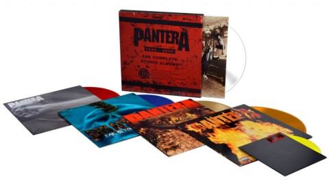 Pantera / The Complete Studio Albums CD box set