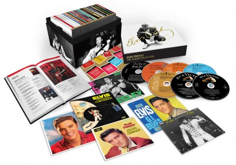 Elvis Presley / The Album Collection career-spanning 60CD box set