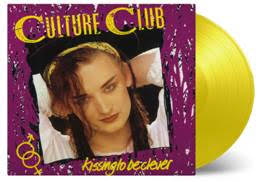Culture Club / Kissing to be Clever on limited edition 180g yellow vinyl