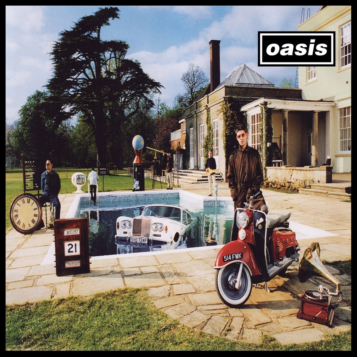 Oasis / Be Here Now reissue and box set