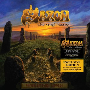 Saxon / The Vinyl Hoard 8LP vinyl box