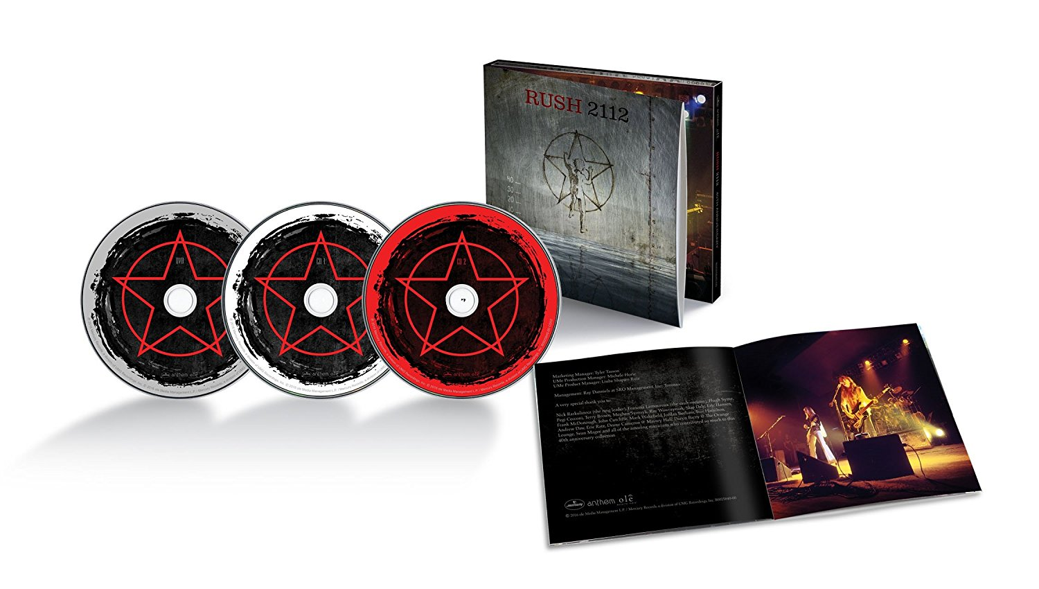 Rush 2112 / 2CD+DVD edition
