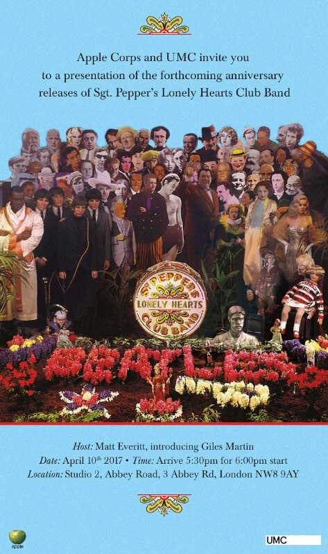 Sgt. Pepper invitation