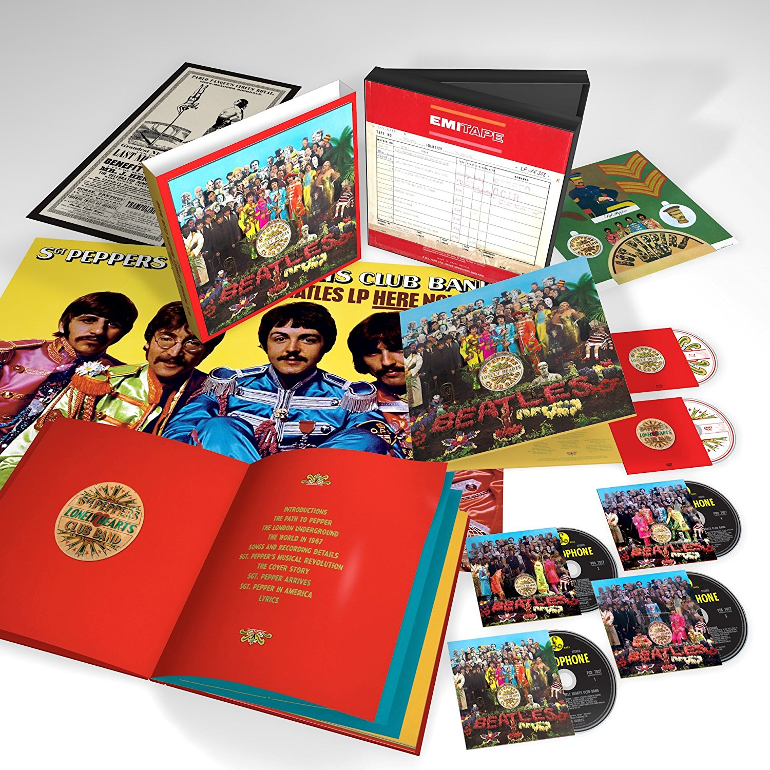 The Beatles / Sgt. Pepper's Lonely Hearts Club Band 50th anniversary six-disc super deluxe edition box set