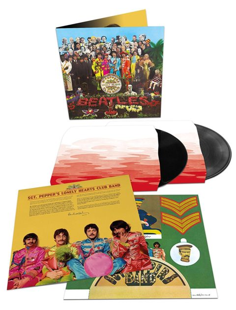 The Beatles / Sgt. Pepper's Lonely Hearts Club Band 50th anniversary 2LP vinyl edition