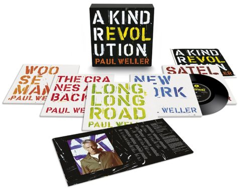 Paul Weller / A Kind Revolution 10-inch vinyl box set