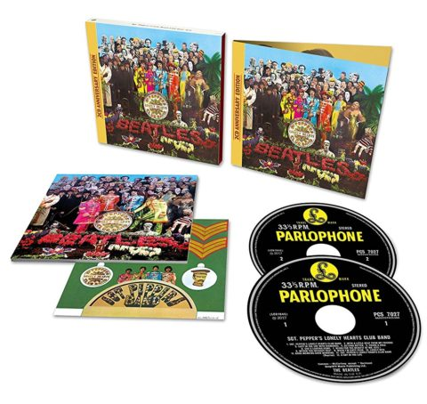 The Beatles / Sgt. Pepper's Lonely Hearts Club Band 50th anniversary 2CD edition