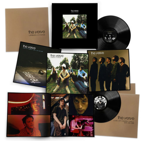 The Verve / 20th anniversary Urban Hymns 6LP vinyl box set